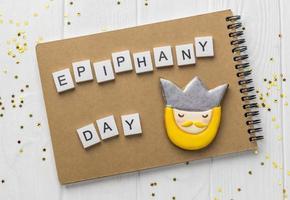 epiphany day dekorationer foto