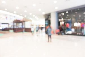 defokuserat köpcentrum foto