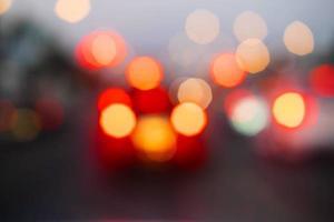 bokeh trafikljus foto