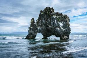 lava i Huna Bay foto