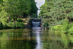 kanallås vattenfall foto