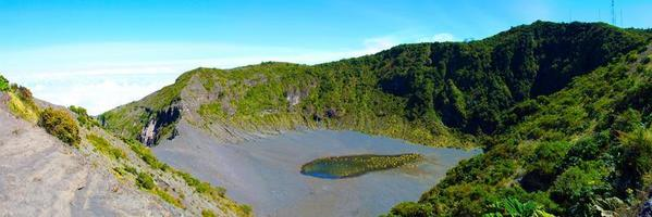 Irazu-vulkanen i Costa Rica foto