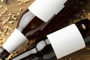 håna ölflaskor foto