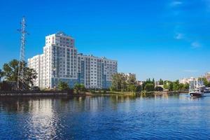 arkitektur i den antika ryska staden. foto