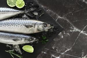 fisk med lime foto