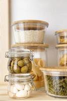 behållare för livsmedelsförvaring foto