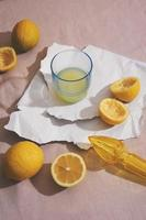citroner och saft foto
