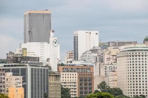 byggnader i centrala Rio de Janeiro, Brasilien foto