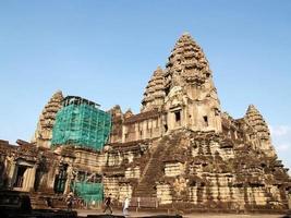 angkor wat i siem skörd, Kambodja foto