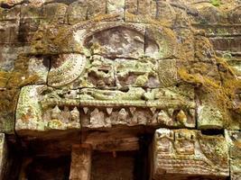 ruiner i Angkor Wat i Siem Reap, Kambodja foto