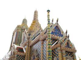 wat phra kaew tempel i bangkok, thailand foto