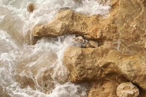 ett närbild av Medelhavet foto