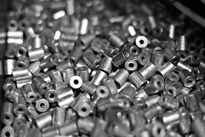 industriella metalldelar foto