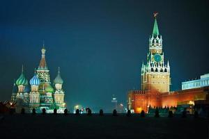 Moskva röda torget foto