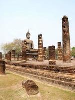 sukhothai historiska park Thailand foto