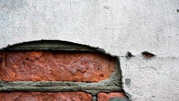 gammal bakgrund för tegelväggstextur foto