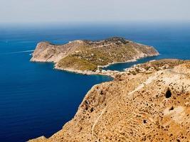 Kefalonia ö Grekland vacker utsikt foto