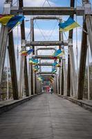 gräns från Rumänien till Ukraina foto
