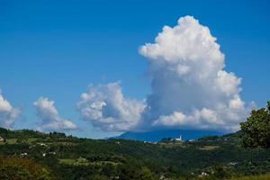 kullarna i Monteviale i Vicenza, Italien foto