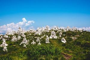 Cairns på Monte Baldo foto