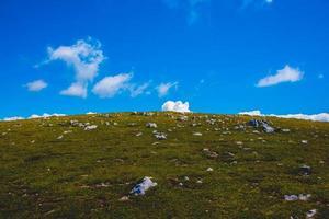 landskap vid Monte Altissimo di Nago i Trento, Italien foto