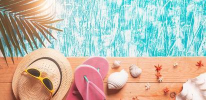 sommar design bakgrund foto