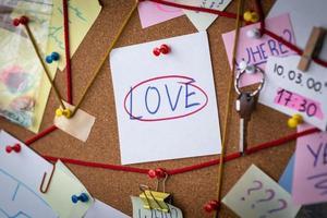 kärlek sök koncept foto