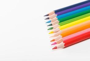 pedagogiska färgpennor foto