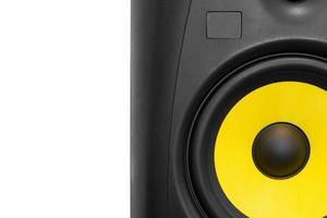 högkvalitativ högtalare för hifi-ljudsystem och inspelningsstudio foto