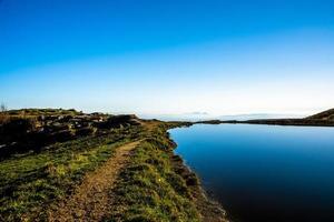 sjö och oändlighet en foto