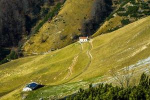alpina gårdar noll foto