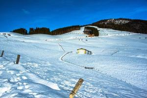 närvaron på snön foto
