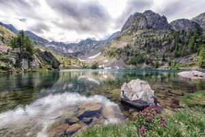 Mercantour National Park i Frankrike foto