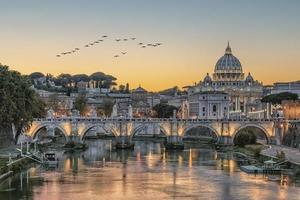 st peters basilica i rom foto