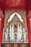 marmortempel i bangkok foto