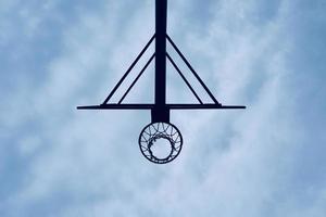 street basket hoop sport foto