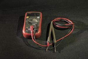 multimeter elektriker enhet foto