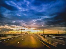 motorväg vägtransport vägresa foto