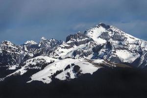 bergslandskap alperna foto