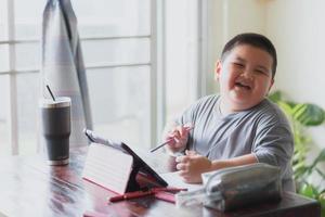 lärande klassstudie online foto