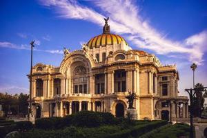 palacio de bellas artes Palace of Fine Arts i Mexico City foto