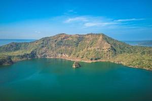 taal sjö i batangas nära manila, filippinerna foto