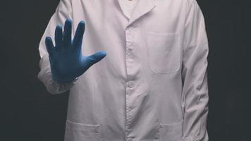 läkare handgester i aktiviteter foto
