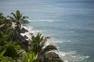 Varkala Beach i Indien foto