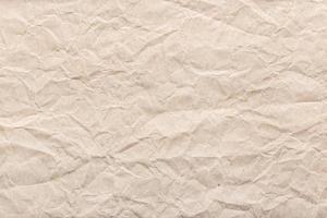 skrynkligt papper bakgrundsstruktur foto