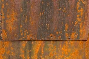 rostig metall rostjärn gammal metall rost konsistens foto