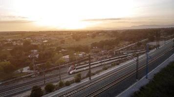 ovanifrån av transportkoncept foto