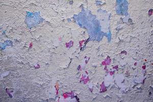 vägg med gammal skalningsstucco foto