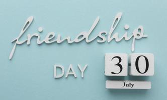 stilleben sortiment för vänskap dag foto