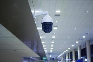 säkerhetskamera på flygplatsen foto